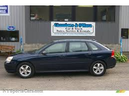 2005 Chevrolet Malibu Maxx LS Wagon in Dark Blue Metallic photo #2 ...