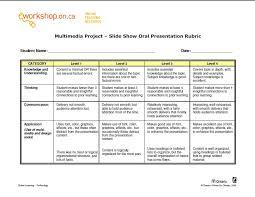 e works multia project slide show presentation rubric