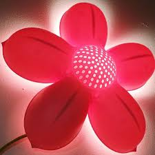 kids wall lighting. Decoration:Amazing Modern Childrens Pink Flower Wall Lamp High Quality And Safety Plastic Material 7 Kids Lighting
