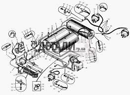 Привод пневматический тормозов МАЗ 5549 122