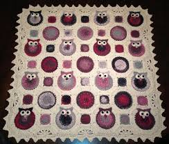 Owl Afghan Crochet Pattern Free Cool Design
