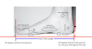 Foot Length To Shoe Size Chart How To Measure Your Shoe Size