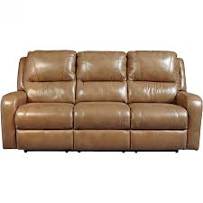 Ashley Furniture Roogan Reclining Sofa in Blon