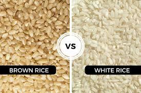 brown rice vs white rice. Simple White Brown Rice Vs White On Vs