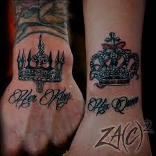 Girl Crown Tattoo
