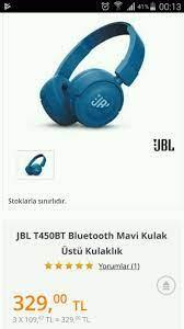 İkinci el satılık JBL KULAKLİK 0 AYARINI TEKNOSA DAN ALINDI