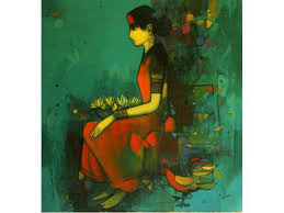 original handmade paintings by famous indian artists goa goa india