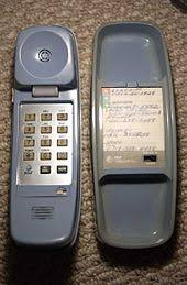 trimline telephone early foreign made trimline 1986