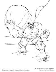 Small Picture Free Printable Hulk Coloring Pages For Kids for Incredible Hulk