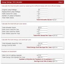 1000bulbs com energy savings calculator extended