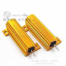<b>3pcs</b>/<b>RX24</b> 50W30RJ Gold aluminum shell resistors 5% 50W ...