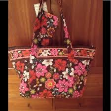 82% off Vera Bradley Handbags - Vera Bradley like quilted tote bag ... & Vera Bradley like quilted tote bag w wristlet. NWT Adamdwight.com