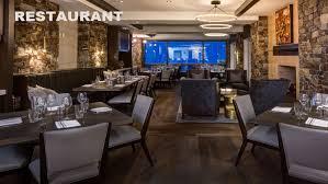 restaurant dining room at stein eriksen residences luxury deer valley vacation als