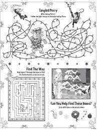 Phineas Ferb Christmas Printable Activities : Printables for Kids ...