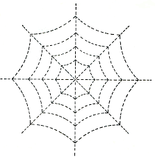 Spider Web Pattern New Halloween Spider Web Quilting Design Pattern Vintage Crafts And More