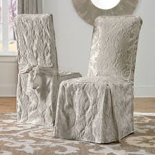 super design ideas damask dining room chair covers matele cover at brookstone now enlarge
