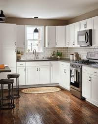 Lowes Kitchen Cabinets White Diamond Now At Lowes Arcadia Collection Streamlined Styling