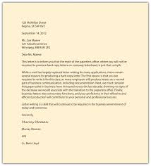 Sample Standard Business Letter Standard Business Letter Besikeighty24co 18