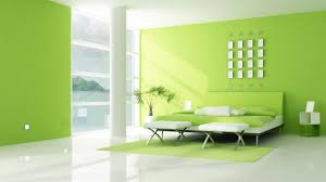 green wall paintWhite And Lime Green Bedroom  DescargasMundialescom