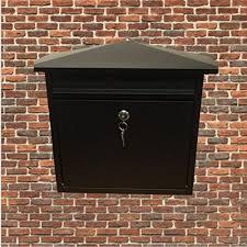 nitaar letterbox wall mounted lockable
