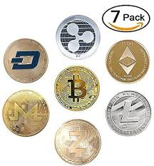 Dash and dogecoin seemed not to have received the memo, as they struggled to gain any traction upward. 7 Coin Bitcoin Crypto Commemorative Ethereum Dash Ripple Litecoin Zcash Monero Mining Contracts Coins Paper Money