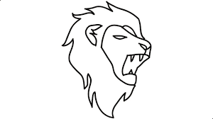 lion drawing. Brilliant Drawing How To Draw A Lion Step By Head Into Cartoon And Drawing T