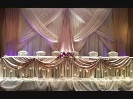 Wedding Backdrop Ideas For Reception