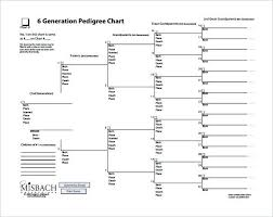 blank pedigree chart 4 generation printable genealogy charts eckvitrinen info