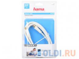 <b>Кабель антенный</b> Hama 00122412 коаксиальный позолоченные ...