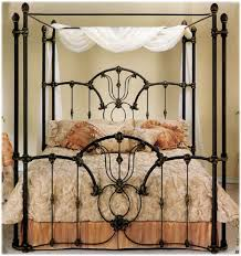 Wrought Iron Beds  Style Strength U0026 ComfortCanopy Iron Bed