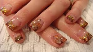 Acrylic fall nail designs - how you can do it at home. Pictures ...