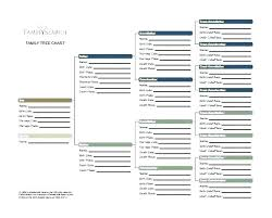 Excel Templates Family Tree Genealogist Family History Packages Free Tree Templates Word