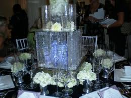 wedding center piece whole glass vases