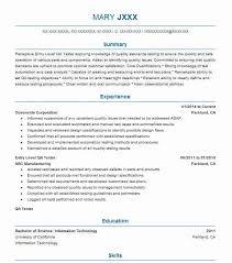 Game Tester Cv Entry Level Qa Tester Resume Sample Entry Level Resumes Livecareer
