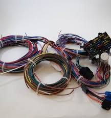 sb ford hei distributor k volt coil rpc racing power universal 12 circuit wire harness kit