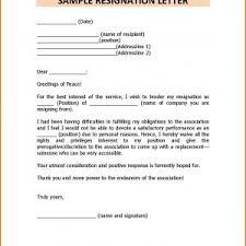 Latest Resignation Letter Format Pdf Save Resignation Letter Format