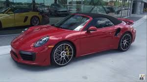 2018 porsche turbo s cabriolet. simple turbo 2017 carmine red porsche 911 turbo s cabriolet 580 hp  west broward for 2018 porsche turbo s cabriolet r