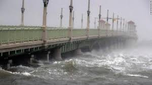 Bridge of Lions St Augustine Florida Hurricane Mathew October 2017 |  Hurricane matthew, Florida coastline, Florida hurricane