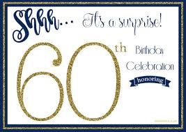 Free Party Invites Templates 003 Template Ideas 60th Birthday Invite Templates Excellent