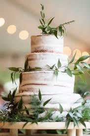Greenery Naked Wedding Cake Knotsvilla Wedding Ideas Canada