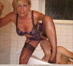 Lady Barbara Slut Mature High Heels Stockings Nylon PornHugo.Co