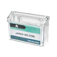 charming crystal business card holder contemporary business card