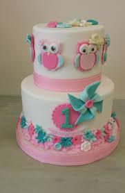Decorated Birthday Cakes Owl Themed Birthday Cake Cakecentralcom