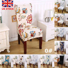 dining room chair covers uk. Plain Chair Removable Elastic Stretch Slipcover Wedding Banquet Dining Room Chair Seat  Cover On Covers Uk R