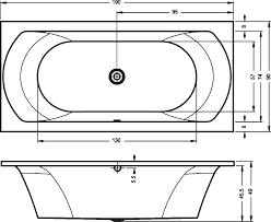 <b>Акриловая ванна Riho Lima</b> 190x90 BB4800500000000 правая ...