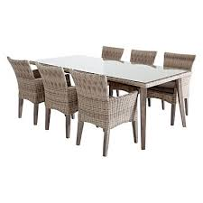 vista outdoor dining table small