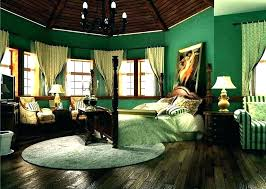 Home Interior Design Bedroom Dark Green Decorating Ideas Wallpaper Decor Carpet