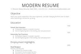 Simple Job Resume Template Gorgeous Sample Easy Resume Feat Easy Resume Samples Simple Job Resume