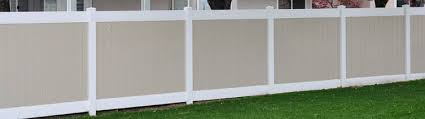 vinyl fence colors. Vinyl Privacy Fence Options Colors
