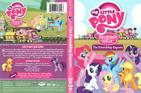 my little pony friendship is magic the friendship express 2016 r1 dvd cover